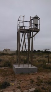 New Air monitoring tower